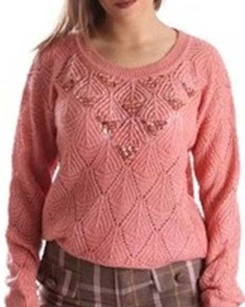 Růžový svetr Fracomina