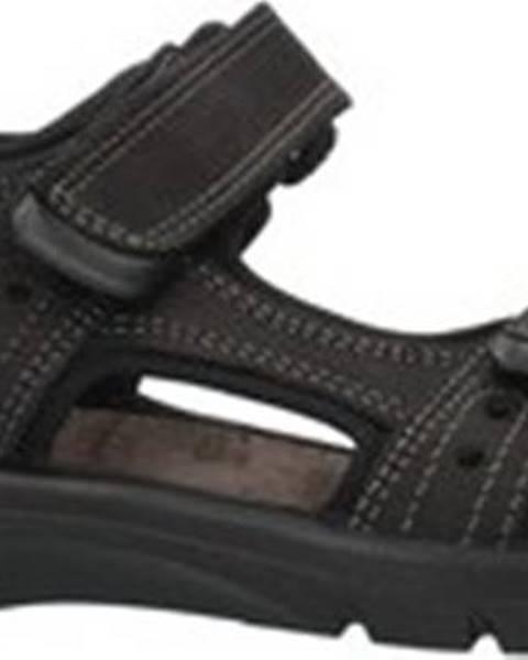 Černé sandály IMAC