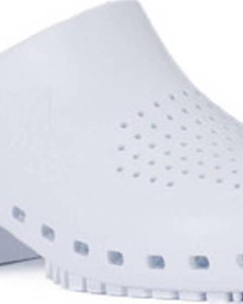 Bílé pantofle Calzuro