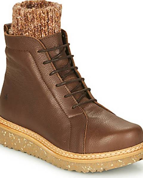 Hnědé boty EL NATURALISTA