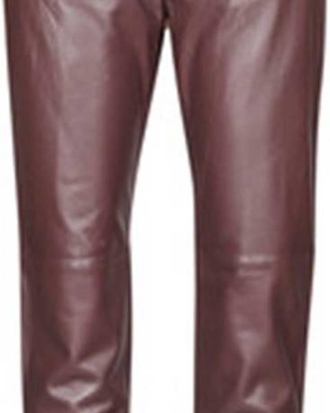 Červené kalhoty OAKWOOD