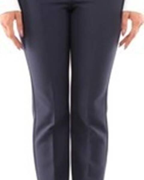 Modré kalhoty Max Mara