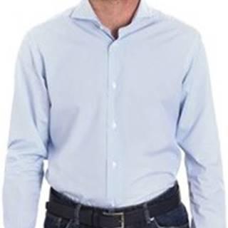 Košile s dlouhymi rukáv BMSHIMC202N Modrá