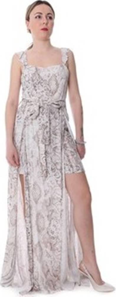 Fracomina Společenské šaty FR20SP506 Béžová