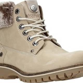 Kotníkové boty WL92512A Béžová