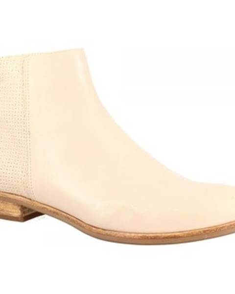 Bílé boty Leonardo Shoes