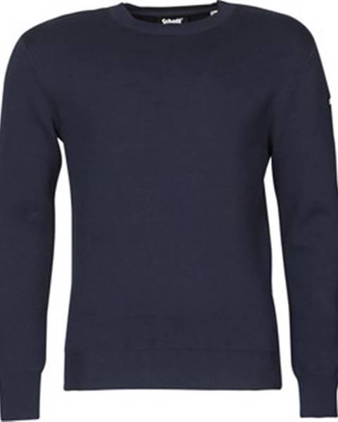 Modrý svetr Schott