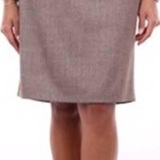 Krátké sukně P0569002581 Béžová