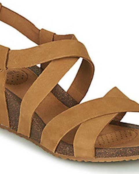 Hnědé sandály teva
