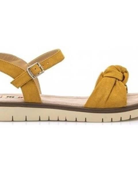 Žluté sandály MTNG