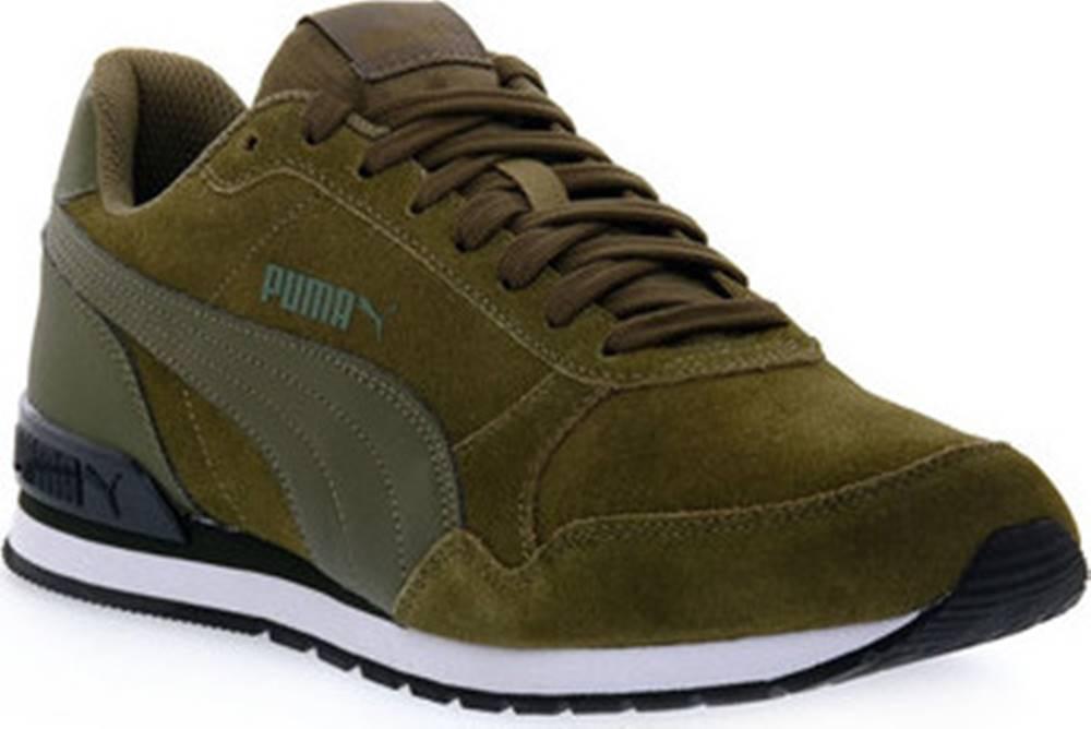 puma Běžecké / Krosové boty 16 ST RUNNER V2 SD Zelená