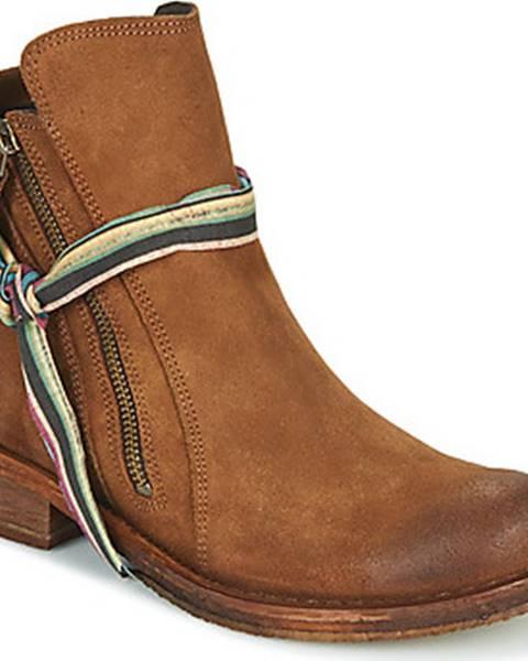Hnědé boty Felmini