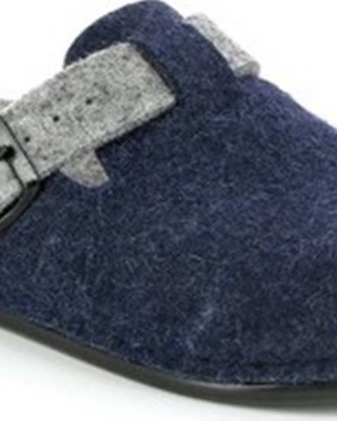 Modré domácí boty Grunland