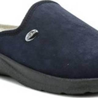 Papuče 617 modré pánské zdravotní pantofle Modrá
