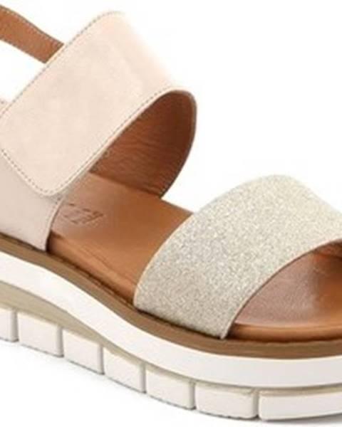 Béžové sandály Grunland