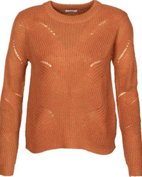 Oranžový svetr JdY