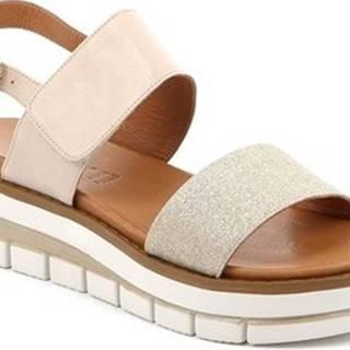 Sandály SA2543 Béžová