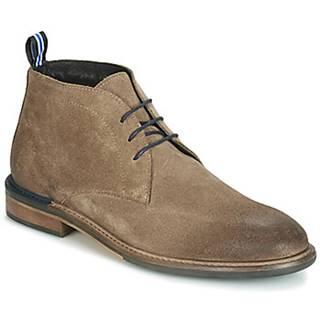 Kotníkové boty PILOT-DESERT Béžová