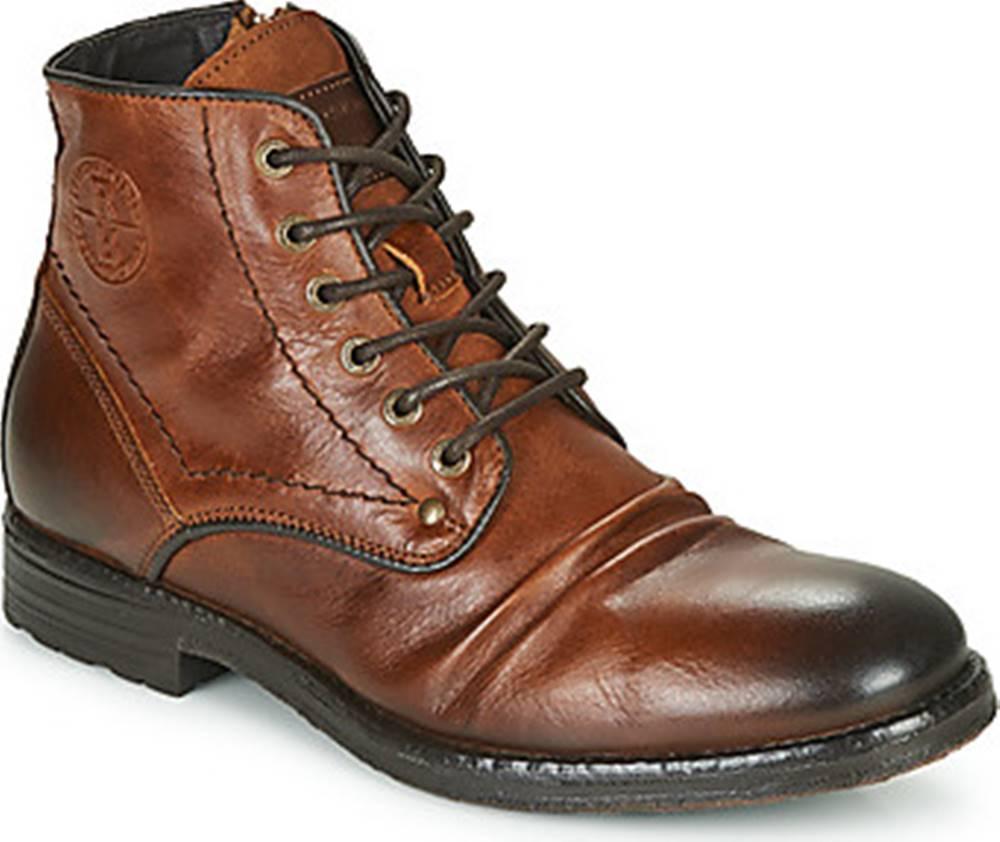 Redskins Kotníkové boty BAMBOU Hnědá