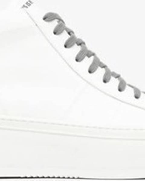 Bílé sandály P448