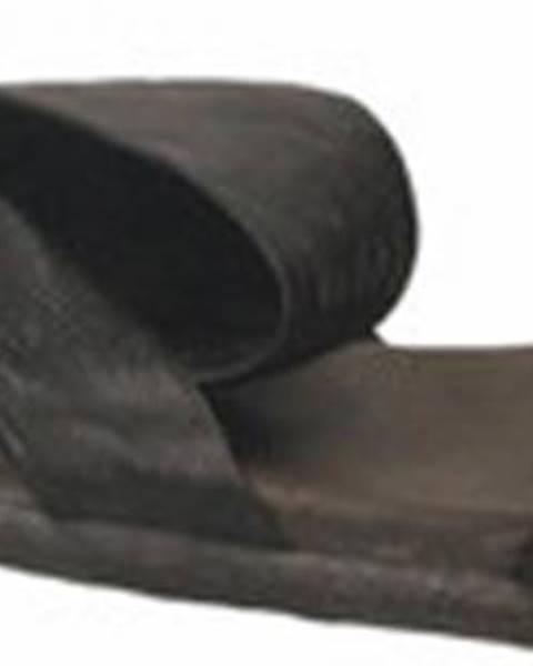 Černé sandály NOW