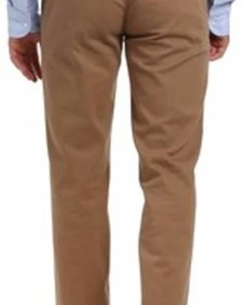 Béžové kalhoty Barbolini Milano