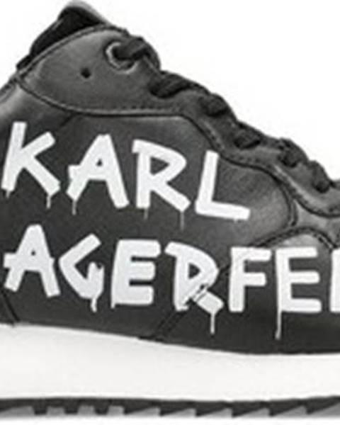 Černé tenisky karl lagerfeld