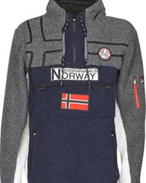 Modrá bunda Geographical Norway