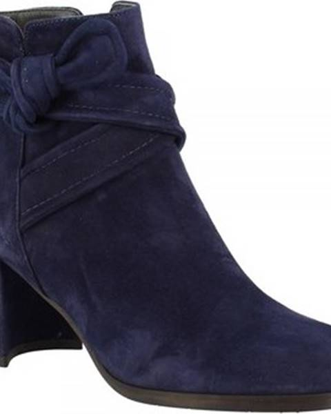Modré boty Leonardo Shoes