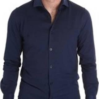 Košile s dlouhymi rukáv BMSHI838SLI/12 Modrá
