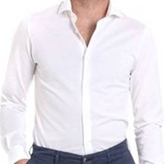 Košile s dlouhymi rukáv BMSHI838SLI/15 Bílá