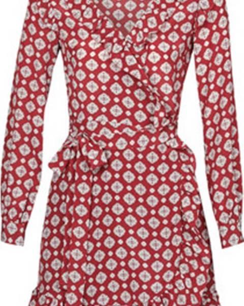 Červené šaty MICHAEL Michael Kors