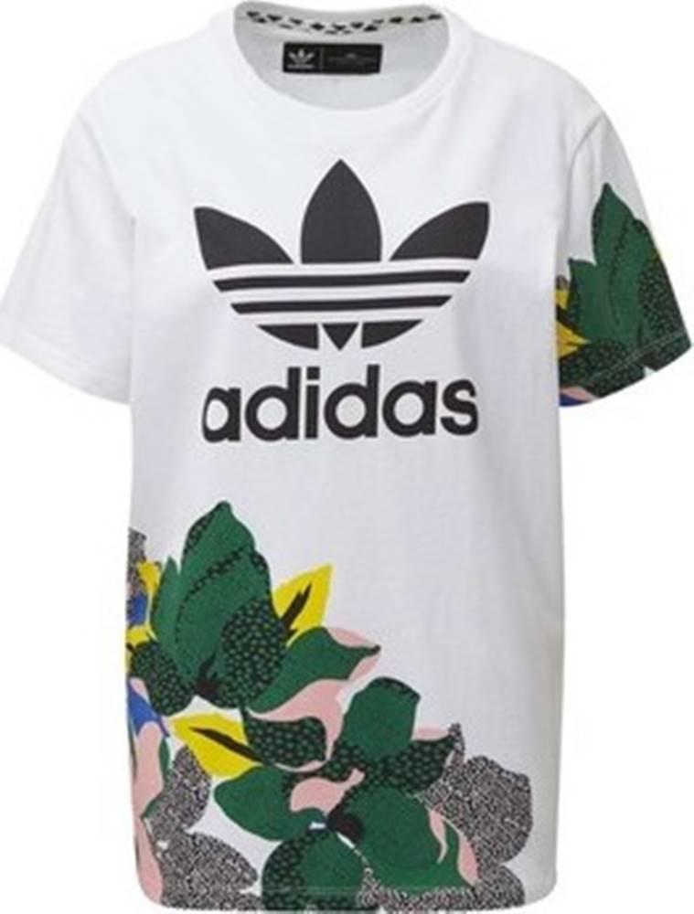 adidas adidas Trička s krátkým rukávem Tričko HER Studio London Loose Bílá