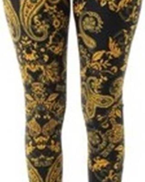 Černé kalhoty Versace