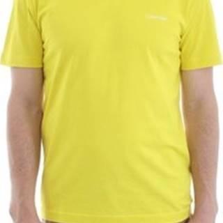 Trička s krátkým rukávem K10K103307 Žlutá