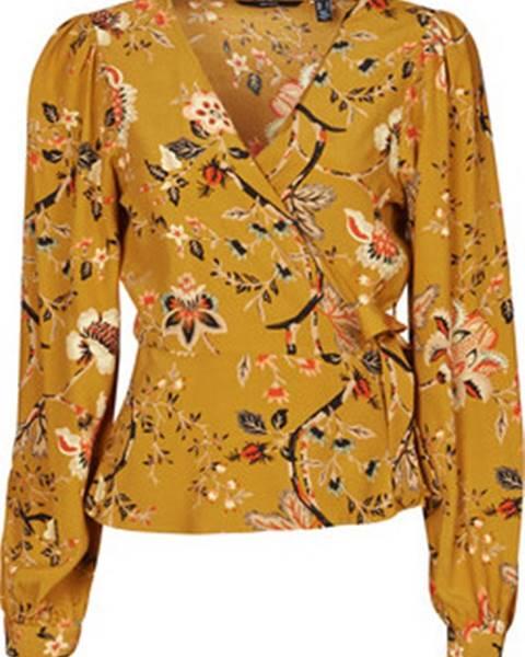 Žlutá halenka vero moda