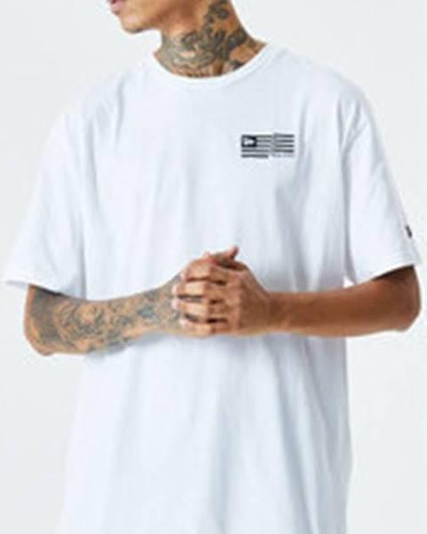 Bílé tričko \New Era