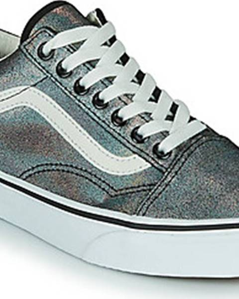 Stříbrné tenisky vans