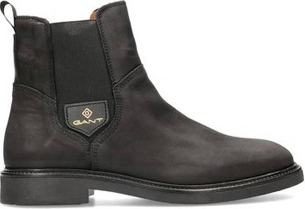 gant Kotníkové boty Ashley Černá