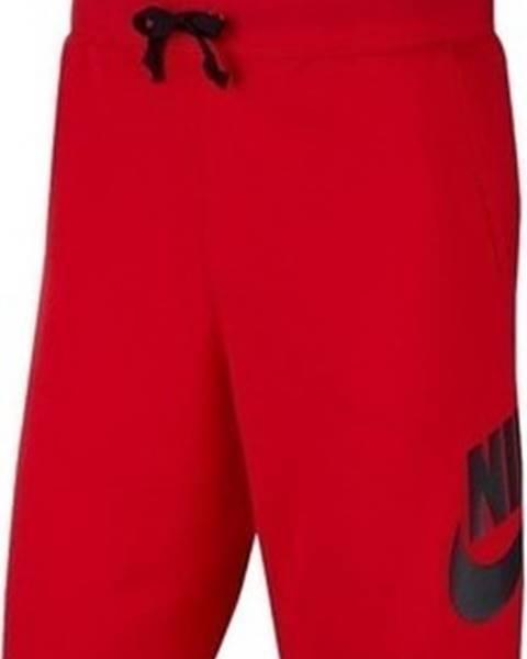 Červené kalhoty nike