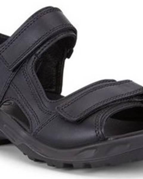 Černé sandály Ecco