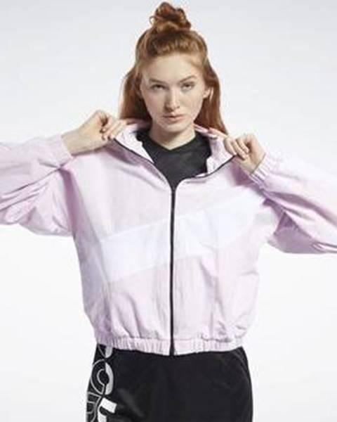 Růžová bunda Reebok Sport