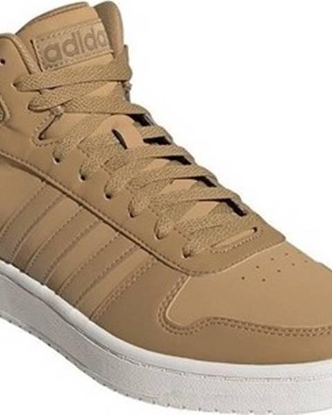 Hnědé tenisky adidas