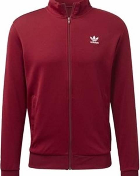 Červená bunda adidas