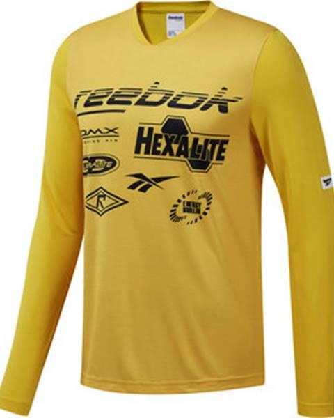 Žluté tričko reebok classic