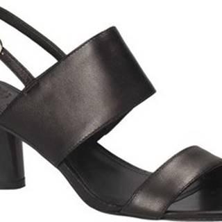 Sandály FLSDN2 LEA03 Černá
