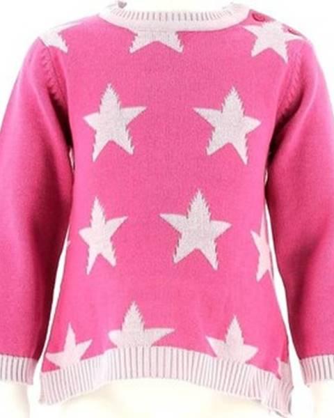 Růžový svetr Losan