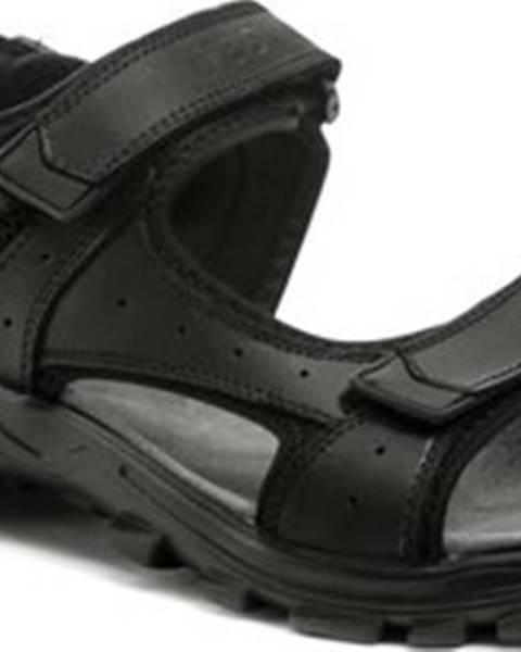 Černé sandály EVENTO