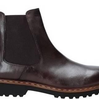 Kotníkové boty 9059 Hnědá