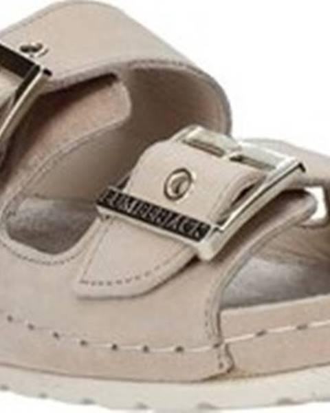 Béžové pantofle LUMBERJACK